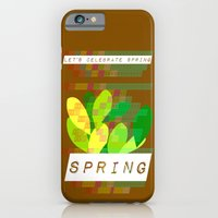 iPhone & iPod Case featuring Celebrate Spring by Inspire me Print