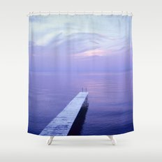 Long Dock Shower Curtain