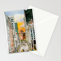 San Francisco at Dusk Stationery Cards
