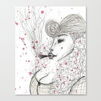 Big Mama Pink Canvas Print