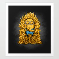 Minion Throne Art Print