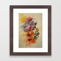 face2 Framed Art Print