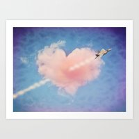CUPIDS ARROW 21st CENTUR… Art Print