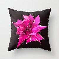 Nik Abstract 3D Throw Pillow