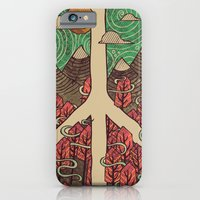iPhone & iPod Case featuring Peaceful Landscape by Hector Mansilla