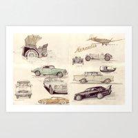 Mercedes-Benz-Museum, St… Art Print