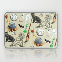 Night of the Witches Laptop & iPad Skin