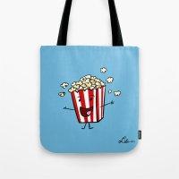 Buttered Popcorn Tote Bag