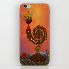 The Wizard's Table iPhone & iPod Skin