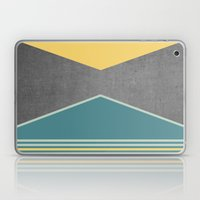 Concrete & Triangles III Laptop & iPad Skin