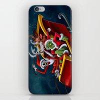 Christmas Hijackers iPhone & iPod Skin