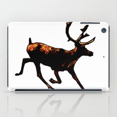 The Mighty Moose Mongoose Reindeer Elk Rentier Caribou iPad Case