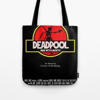 Deadpool : Merc with a Mouth Tote Bag