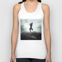 To never, to no more. Unisex Tank Top