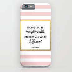Coco Gold Pink Fashion Quote iPhone 6 Slim Case