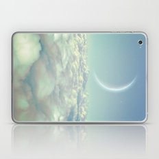 Dream Above The Clouds (Crescent Moon) Laptop & iPad Skin