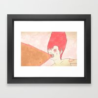 선구자 무아지경 -… Framed Art Print