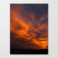 Ghost Riders In The Sky Canvas Print