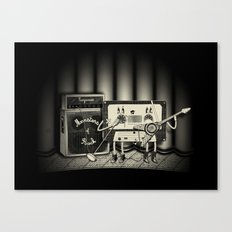Conjoined Monsters of Rock Canvas Print