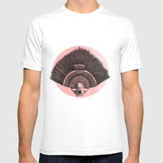 ::headdress:: Mens Fitted Tee White SMALL