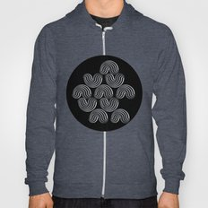Black and white pattern - Optical game12 Hoody