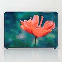 Lonely Poppy iPad Case