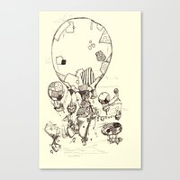 Stitchpunk Canvas Print
