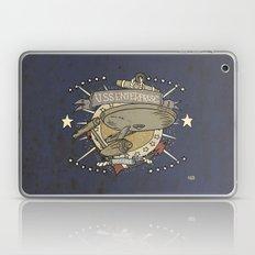 USS ENTERPRISE STAR TREK TATTOO PRINT Laptop & iPad Skin
