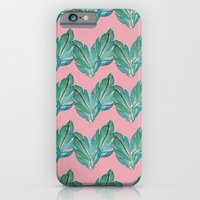 Watercolor Leaves iPhone 6 Slim Case