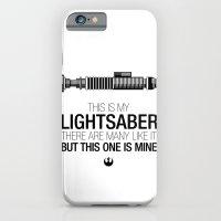 This is my Lightsaber (Luke Version) iPhone 6 Slim Case