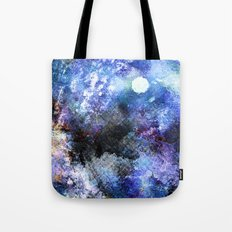Winter Night Orchard Tote Bag