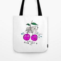 Cherry Twins Tote Bag