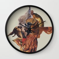 Blind Exodus Wall Clock