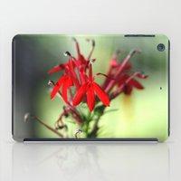 Cardinal Flower iPad Case