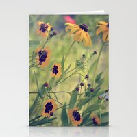 Golden Garden Stationery Cards