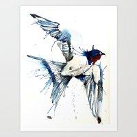 My Swallow Art Print