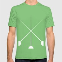 The Three Musketeers Mens Fitted Tee Grass SMALL