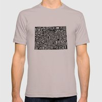 Typographic Colorado Mens Fitted Tee Cinder SMALL