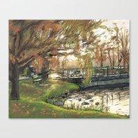 Charles River Esplanade … Canvas Print