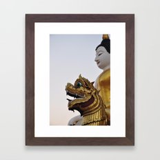 Buddha and Dragon II (Travel & Thailand)  Framed Art Print