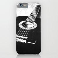 guitar iPhone & iPod Cases featuring Guitar by Falko Follert Art-FF77