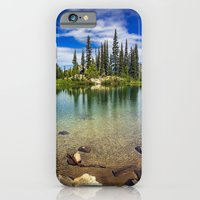 iPhone & iPod Case featuring Mountain Lake by JMcCool