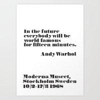 In the future Art Print