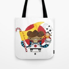 Chestnut + Kiiroihankachi cause we will not forget!!! Tote Bag