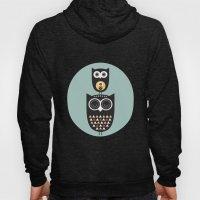 Owl décor - modern nursery art - geometric pattern Hoody
