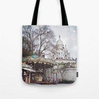 Paris, Montmartre Tote Bag