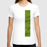 Camo Womens Fitted Tee White SMALL