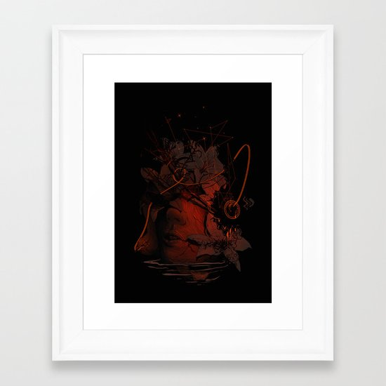 The Lost Track II Framed Art Print