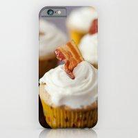 Bacon Maple Cupcake iPhone 6 Slim Case