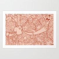 #MoleskineDaily_15 Art Print